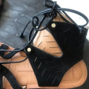 Dolce Vita Shoes - Dolce Vita Black Gladiator Sandals